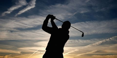 Sky, Cloud, Elbow, Standing, Backlighting, Wind instrument, Morning, Silhouette, Gap wedge, Paddle,