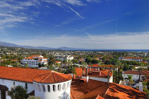 "<p>Located just two hours north of Los Angeles, <a href=""https://www.tripadvisor.com/Tourism-g33045-Santa_Barbara_California-Vacations.html"" target=""_blank"">Santa Barbara</a> is a sleepy beach town sandwiched between the Santa Ynez Mountains to the north and the Pacific Ocean to the south. With near-perfect weather year-round, it's a great place for outdoor activities like hiking, surfing, and bike rides along the beach. There are also shops and boutiques lining lower State Street, tours through the famous Mission Santa Barbara, and a wide variety of restaurants featuring world-class wines from local vineyards.</p>"