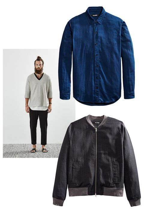 Clothing, Blue, Collar, Sleeve, Textile, Outerwear, Jacket, Style, Electric blue, Fashion,