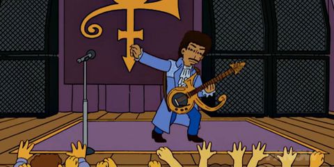 You Can Now Read Pages from the 'Simpsons' Prince Episode that Never Was