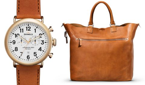 Product, Brown, Photograph, White, Watch, Bag, Orange, Style, Analog watch, Amber,