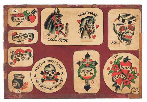 Vintage American Tattoo Designs