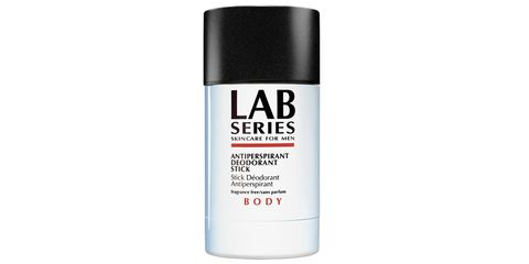 """<p>One wipe per. Maybe two. <strong>Lab Series' antiperspirant deodorant </strong>($17&#x3B; <a href=""""http://www.labseries.com/product/1527/4668/HAIRBODY/Antiperspirant-Deodorant-Stick/index.tmpl"""" target=""""_blank"""">labseries.com</a>) is heavier-duty-than-normal clear stuff, with no scent—<span class=""""redactor-invisible-space"""">not from the deodorant, not from you. </span></p>"""