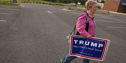 Voter, Trump supporter