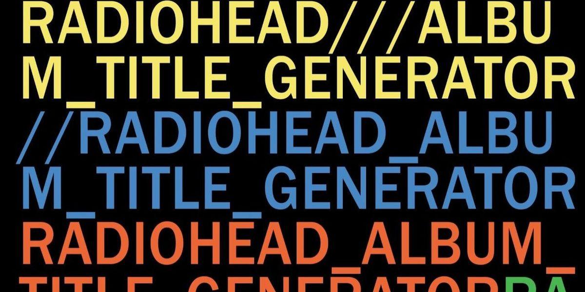 Album title generator