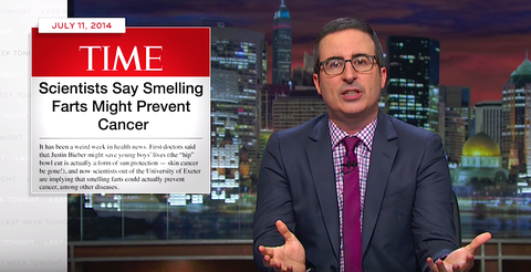 John Oliver Explains Why All That Miracle Science Is Total Bullsh*t