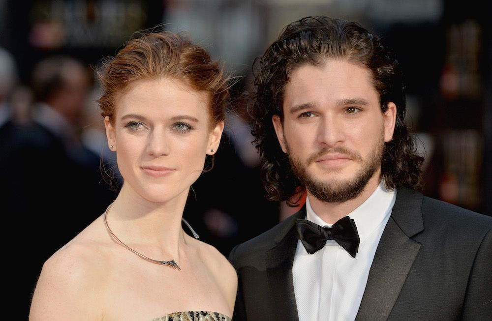 Kit Harington S Girlfriend Rose Leslie Didn T Know About Jon Snow S Fate