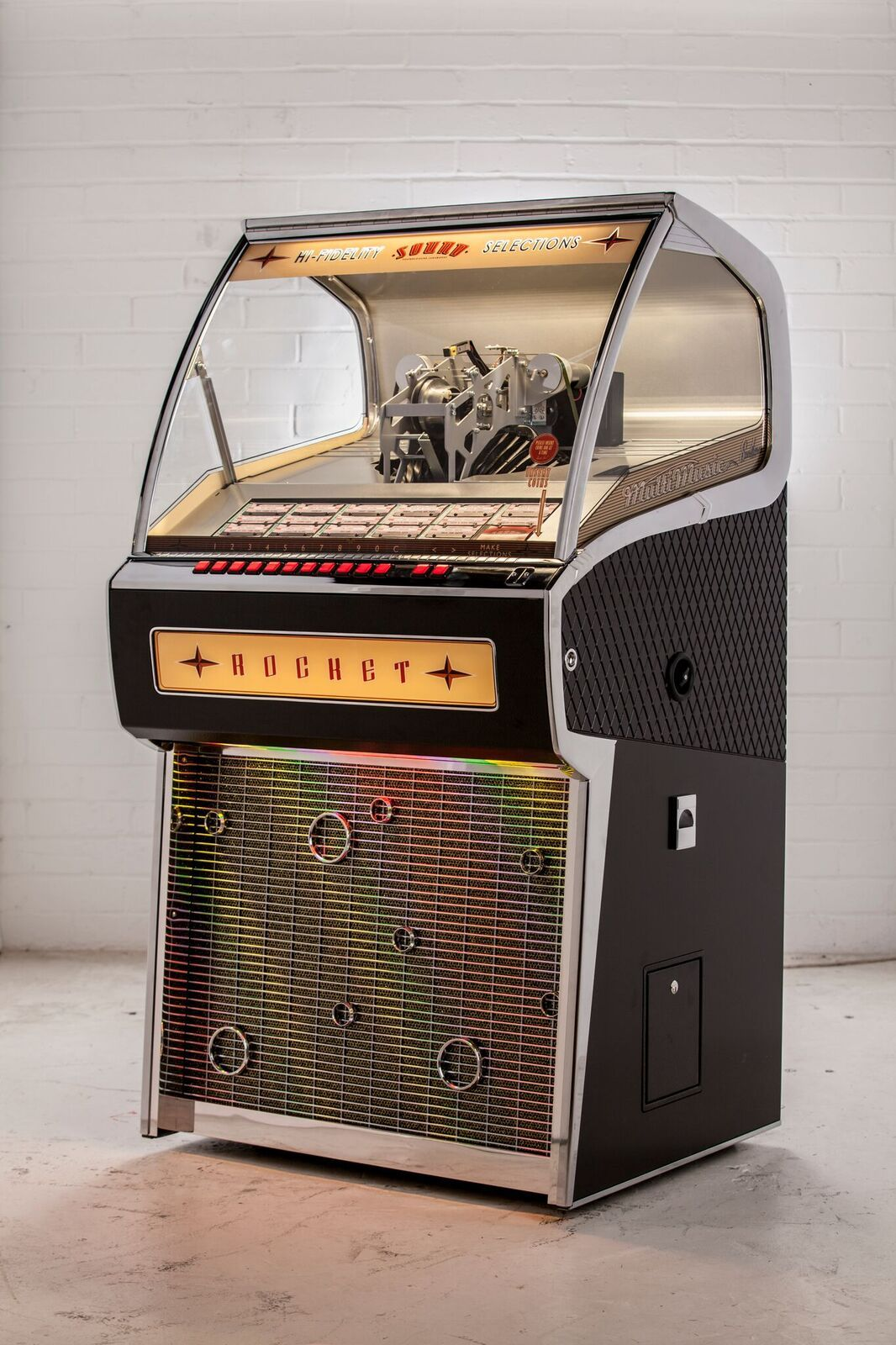The First Vinyl Jukebox to Be Made in 20 Years Will Soon Be on Sale