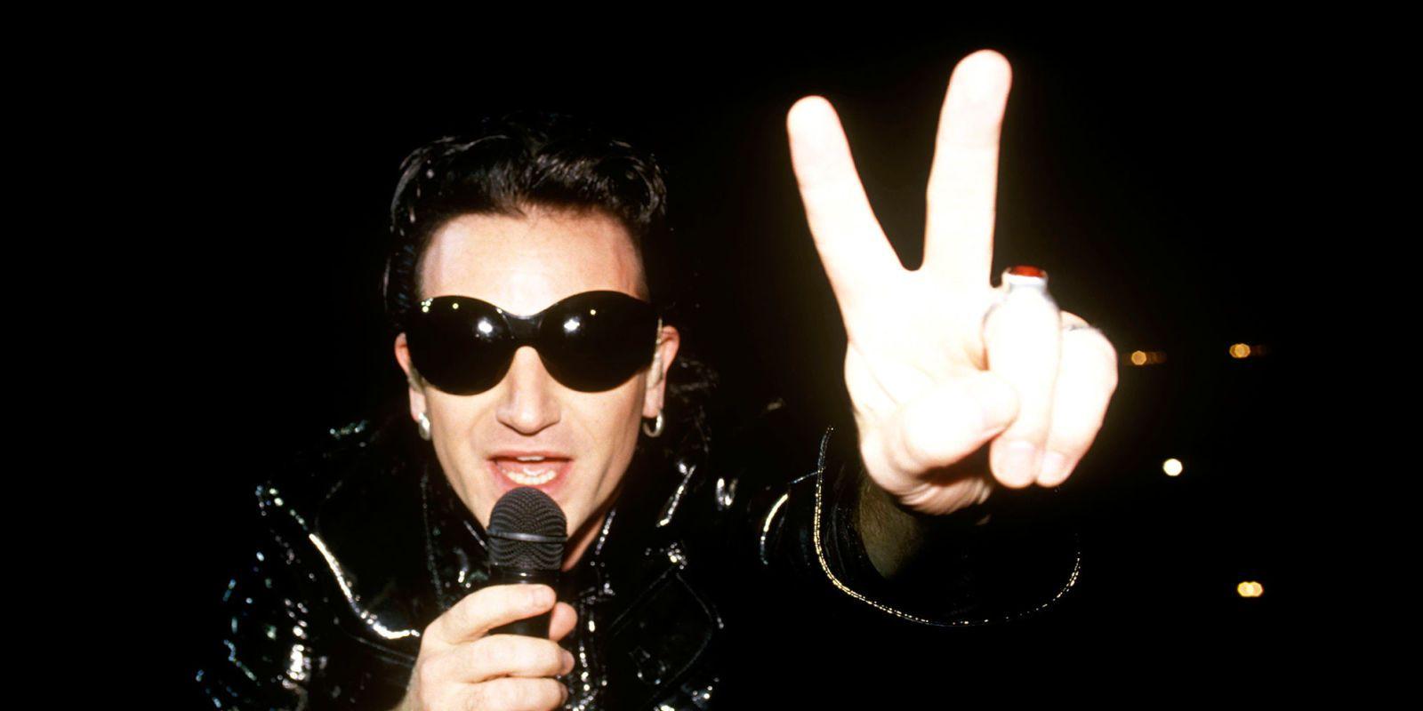 50 Photos of Bono Being Bono-y