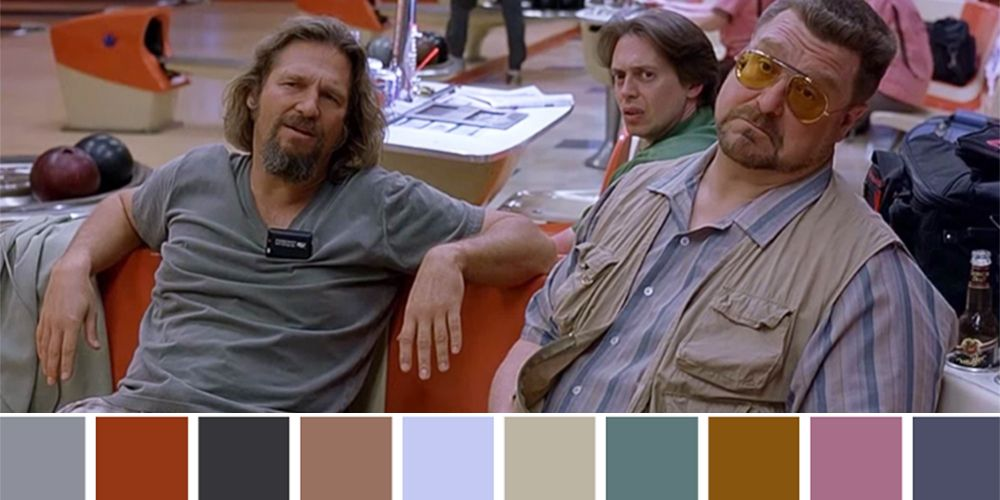 Iconic Films And Their Color Palettes - These colour palettes inspired by famous movie scenes are beautiful