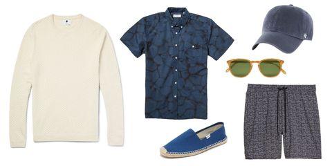Eyewear, Product, Collar, Sleeve, Textile, White, Pattern, Sunglasses, Fashion, Sweater,