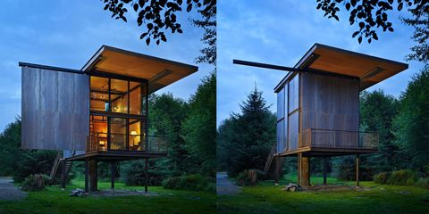 This Steel Cabin Could Survive a Zombie Apocalypse