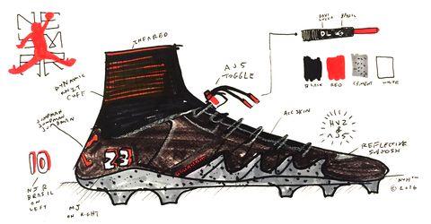 a2b2e1204e3 Soccer Player Neymar Jr. First Collaboration with Nike - Neymar x ...