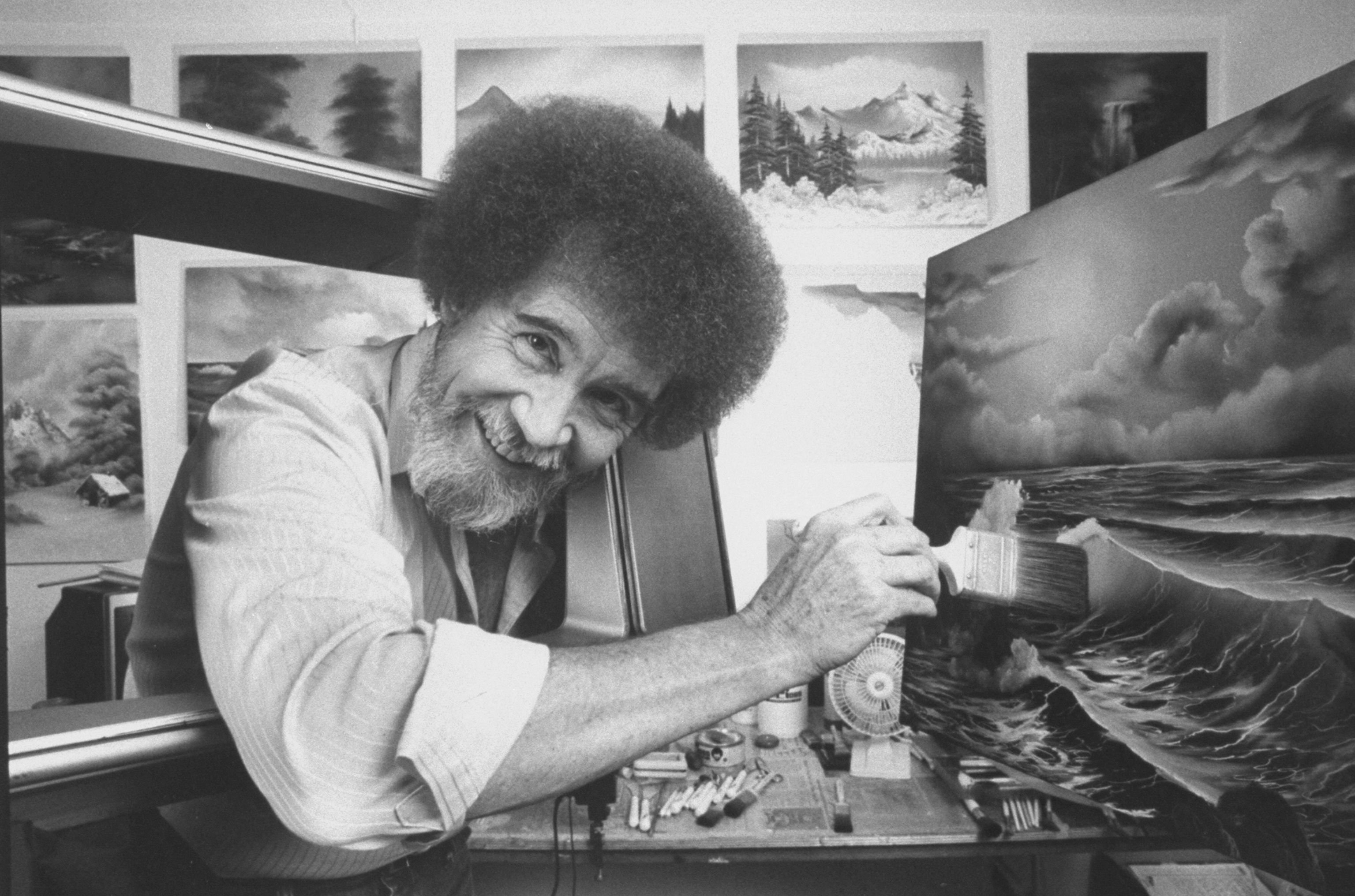 No Happy Accident: Bob Ross Is Finally on Netflix