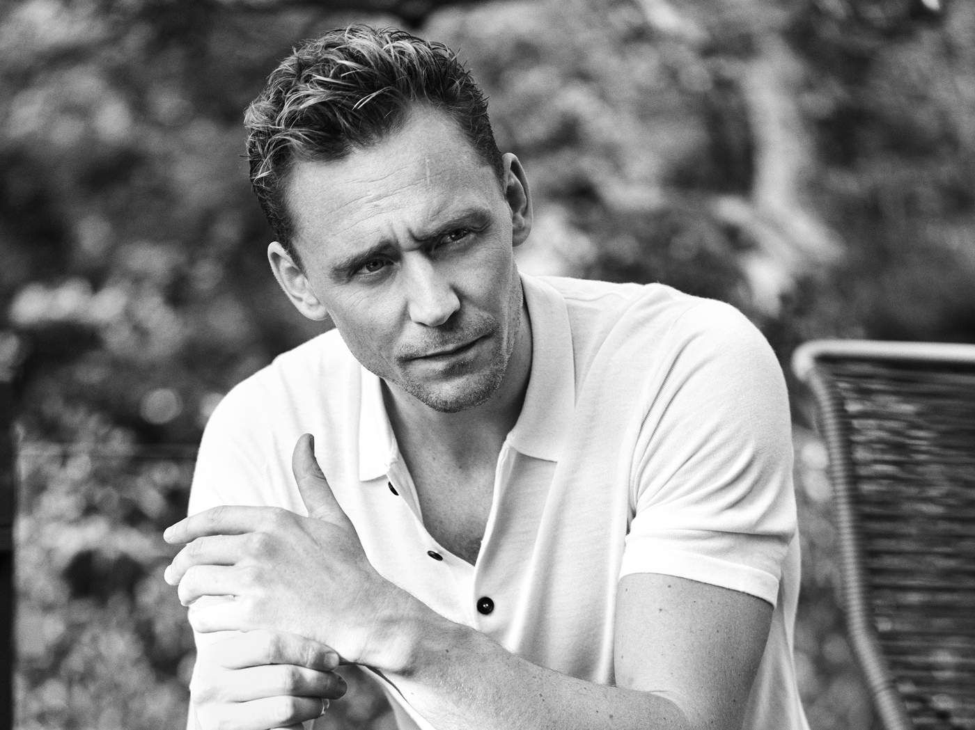 Tom Hiddleston Is Ready for Action