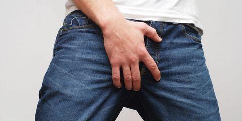 Clothing, Blue, Finger, Denim, Trousers, Textile, Jeans, Joint, Pocket, Electric blue,