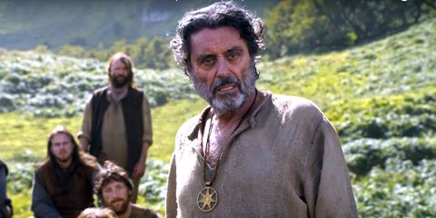 Ian McShane Can Finally Talk About His 'Secret' Role on Game of Thrones