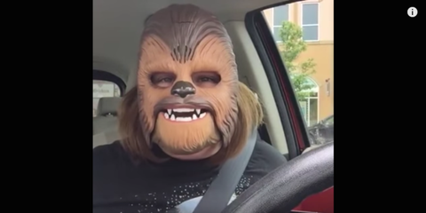 Motor vehicle, Cheek, Facial hair, Tooth, Facial expression, Vehicle door, Jaw, Glass, Wrinkle, Windshield,