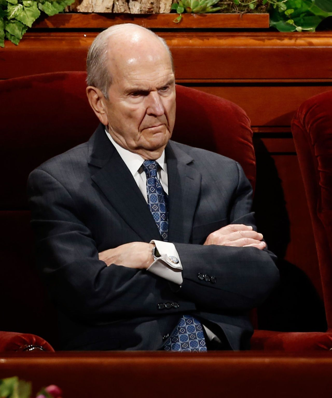 Mormon Bishop Tugs Elder