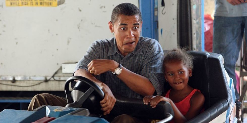 100 Times Barack Obama Kicked Into Full-Dad Mode