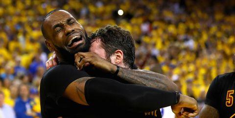 Break the Internet, Crying LeBron