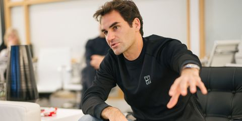 Roger Federer Talks Off The Court Style And His New Nike Collaboration
