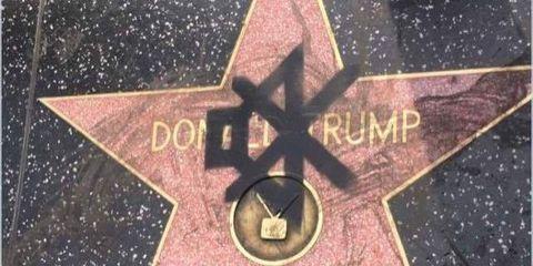 The Best Anti-Trump Graffiti We've Seen in a While