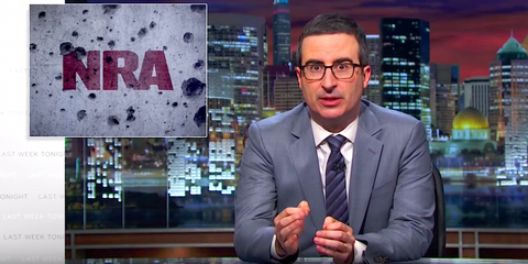 John Oliver Explains Why the NRA Is So Powerful