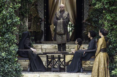 Varys in Dorne on Game of Thrones