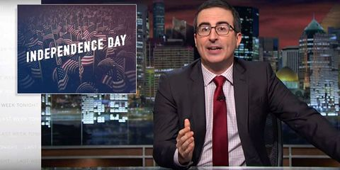 The Very British John Oliver Explains What Makes America So Great