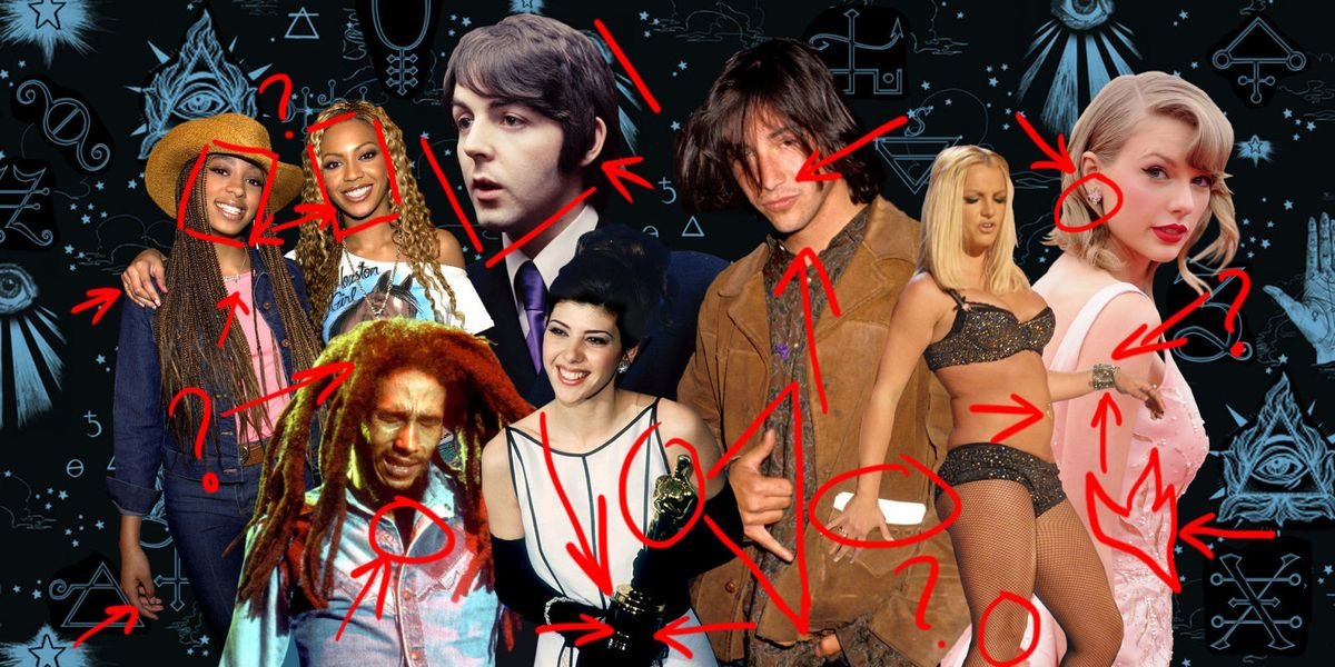 16 Best Celebrity Conspiracy Theories Of All Time From -6476