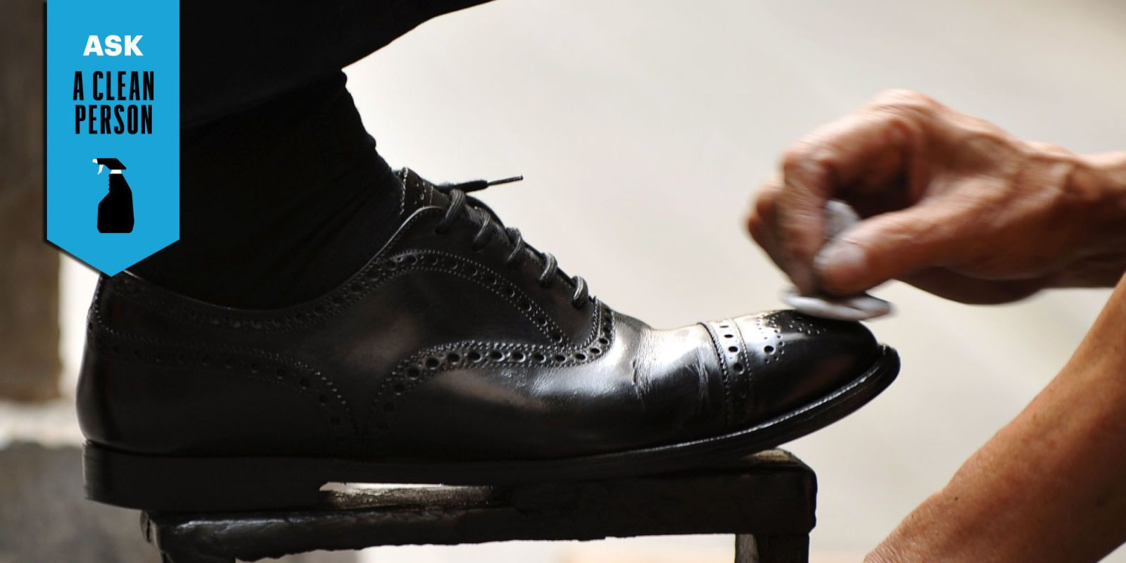 Here's How to Shine Your Shoes Like a Pro