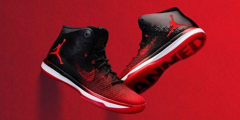 Footwear, Product, Shoe, Red, White, Athletic shoe, Light, Carmine, Fashion, Black,