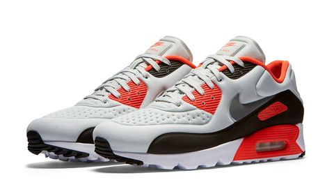 finest selection 094d5 1dff1 Although it might not be the most famous Air Max sneaker, the Infrared Air  Max 90 is without a doubt one of the most popular, singlehandedly launching  one ...
