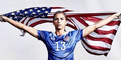 Jersey, Sleeve, Sports uniform, Shoulder, Sportswear, Red, Photograph, White, Electric blue, Flag of the united states,