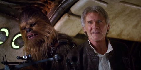 Jacket, Chewbacca, Collar, Fictional character, Leather jacket, Leather, Wrinkle, Movie, Supervillain, Top,