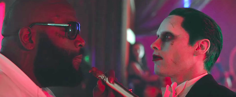 Rick Ross Skrillex Jared Leto Purple Lamborghini Video Watch