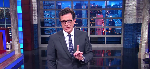 A Rejuvenated Stephen Colbert Will Change How We Burn Donald Trump