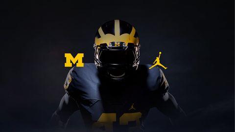 8155685c9c2 Nike, Air Jordan Team with Michigan Football for Uniforms, Gear