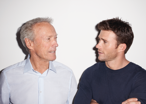 Clint And Scott Eastwood No Holds Barred In Their First