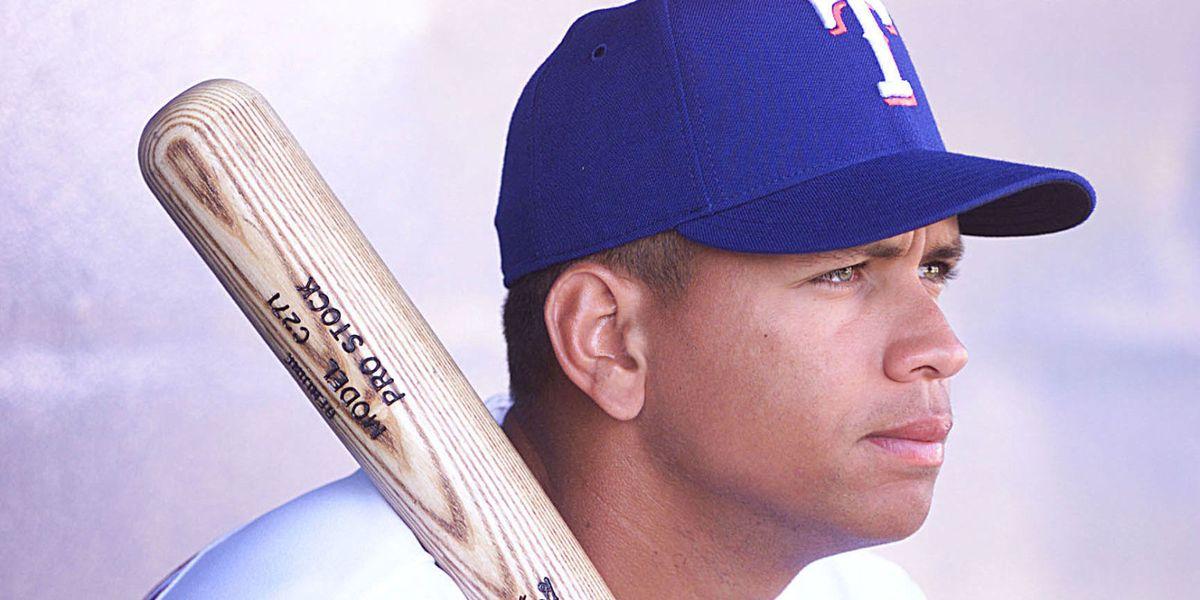 Open 2001 Starting Lineup Texas Rangers Alex Rodriguez