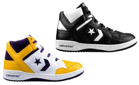 9c9eeb7efd0 They even had basically the same sneaker, which they both wore in their  incredibly entertaining joint Converse commercial in ...