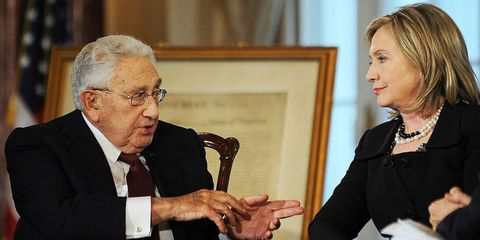 If Hillary Clinton Seeks (or Accepts) an Endorsement from Henry Kissinger, She's Lost My Vote