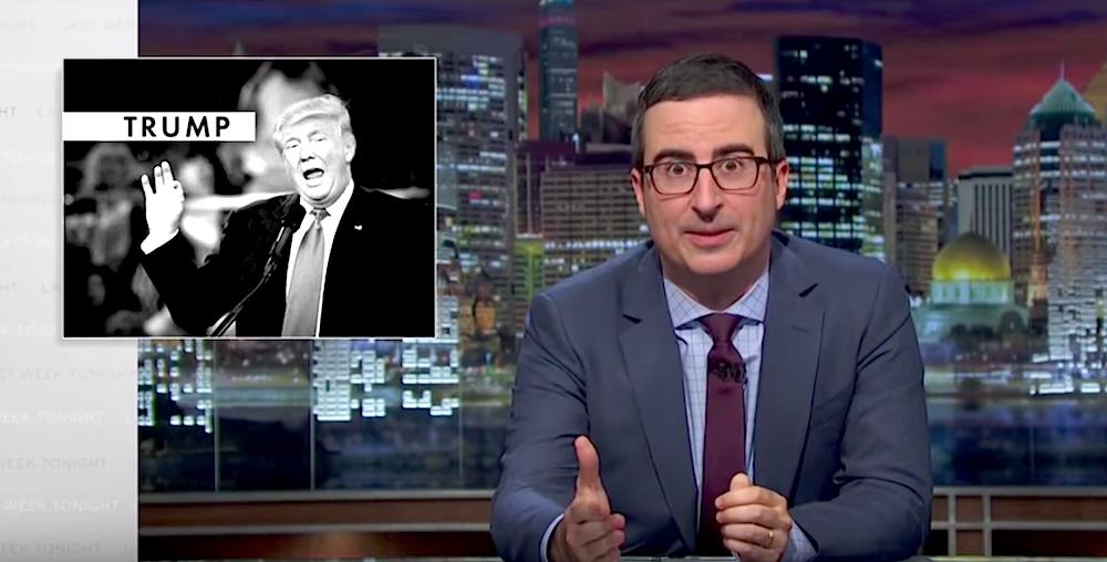 John Oliver Breaks Down Trump's Most Dangerous Comments