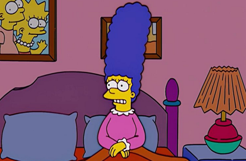 marge simpsons hot