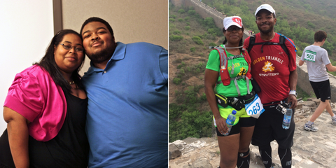 How One Couple Lost 500 Pounds by Running Together