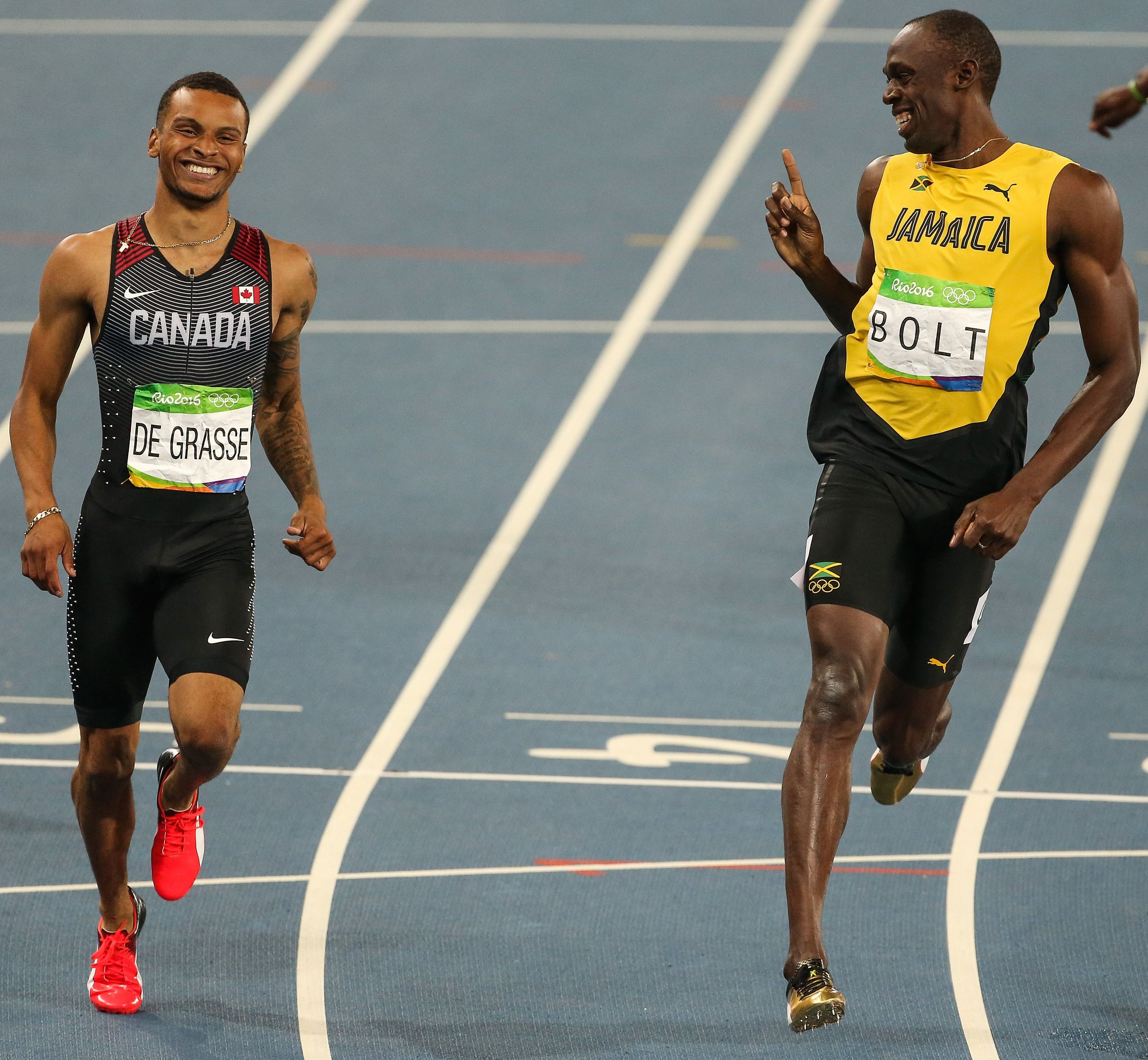 promo code 50780 55c6b Usain Bolt Had the Most Usain Bolt Finish Line Move (Again)