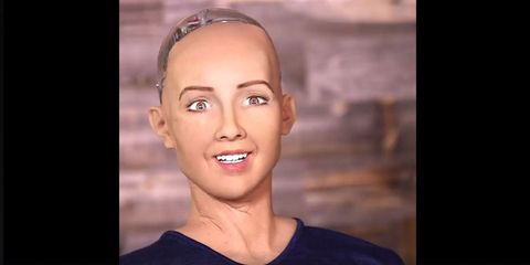 This Horrifying Robot Literally Just Said She Would Destroy Humans