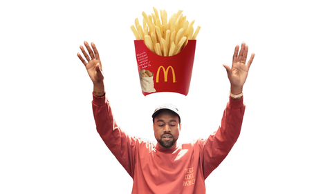 Kanye West Wrote a Poem About McDonald's and Has Never Been More Relatable