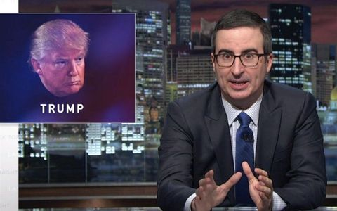 John Oliver Knows How Trump Can Get Out of This Whole Election Thing